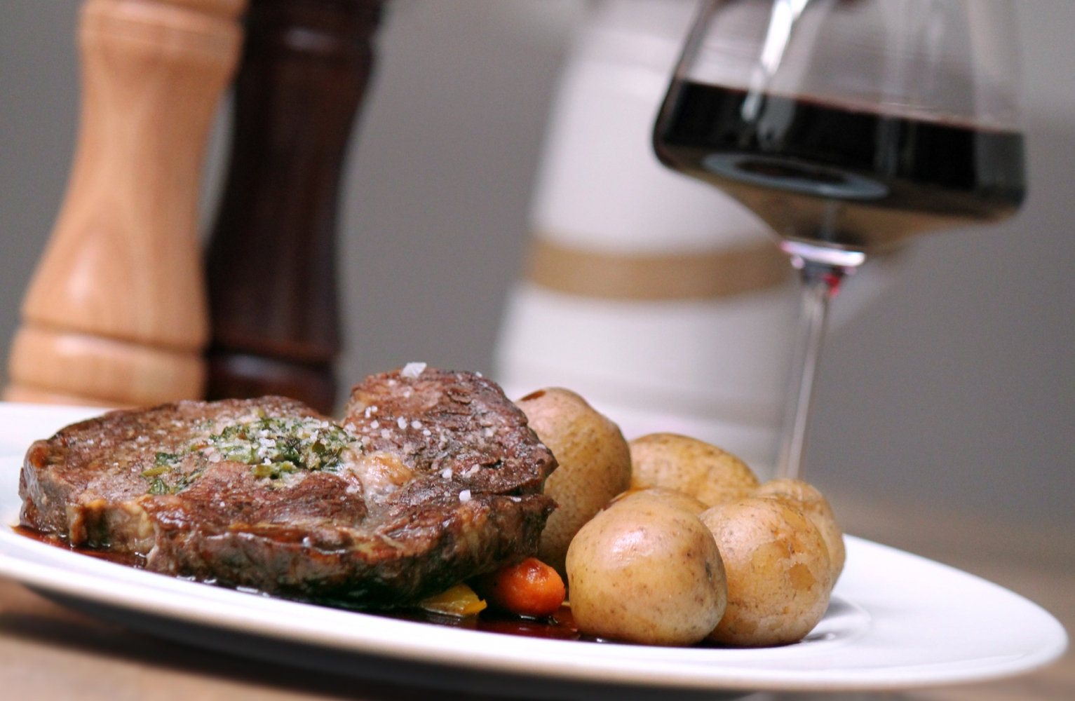 Rinder Rib-Eye Steak
